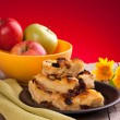 Apples And Pudding — Stock Photo