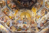 Fresco On Cupola Of Santa Maria Del Fiore, Florence, Italy — Foto Stock