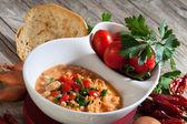 Zupa z fasoli — Zdjęcie stockowe