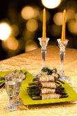 Mesa con aperitivos — Foto de Stock