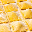 Fresh Agnolotti Pasta — Stock Photo