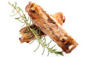 Pork Spareribs With Rosemary — Stock Photo