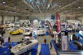 大きな青い博覧会、ローマ 2014年モーター ボート — ストック写真