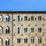 Постер, плакат: Palazzo Pretorio Facade Volterra Tuscany Italy