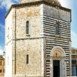 San Giovanni Baptistery, Volterra, Italy — Stock Photo