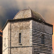 San Giovanni Baptistery, Volterra — Stock Photo