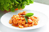 Pumpkin Gnocchi — Stock Photo