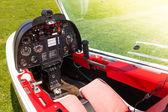 Microlight cabina di pilotaggio aereo — Foto Stock