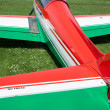 Ultralight Airplane Detail — Stock Photo