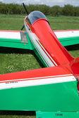 Ultralight Airplane Detail — Стоковое фото