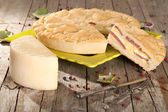 Italian Savoury Pie — Stock Photo