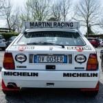 Back Detail Lancia Delta HF Integral — Stock Photo #46419635
