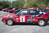 Lancia Delta HF Integral Martini Racing — Stock Photo