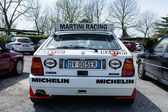 Back Detail Lancia Delta HF Integral — Stock Photo
