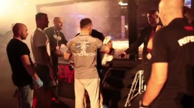 Giuliano Pennese Italian MMA Fighter - Part II — Stock Video
