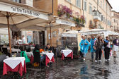 Restaurant Ai Tre Tartufi Navona Rome — Stock Photo