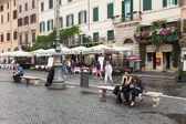 Navona Square Rome Italy — Stock Photo