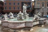 The Moor Fountain Navona — Stock Photo