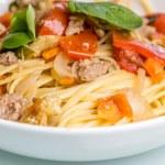 Spaghetti bolognese — Stock Photo #26177019