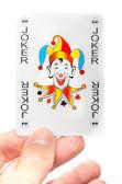 Lucky jocker card — Foto de Stock