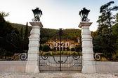 Rodengo Saiano (Brescia, Lombardy, Italy): Villa Fenaroli, ancie — Stock Photo
