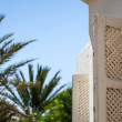 Traditional window from  Tunisia - Stockfoto