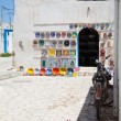 Stock Photo: Typical tunisian pottery shop - Tunisia