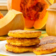 Pumpkin pancakes — Stock Photo #12623078