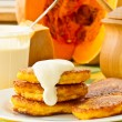 Pumpkin pancakes — Stock Photo #12623124