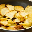 Fried potatoes — 图库照片