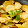 Fried potatoes — Stock fotografie