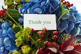Beautiful bouquet of Hydrangeas — Stock Photo