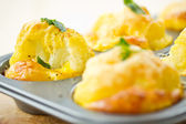 Baked Cauliflower — Stock Photo