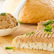 Bread with liver pate — Stock Photo #14551751