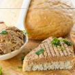 Bread with liver pate — Stock Photo #14551869