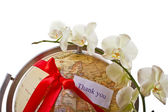 The whole world as a gift — Stock Photo
