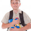 Portrait of a schoolboy — Stock Photo #17912525