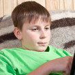 Boy teenager with tablet computer — Stock Photo #18971731
