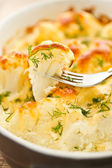 Baked Cauliflower — Stock Photo