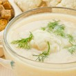 Soup Cream of cauliflower — Stock Photo #20134281