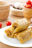 Cabbage stuffed with meat — Stock Photo