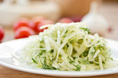 Salad of cabbage — Stock Photo