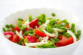 Fresh salad of radish and tomatoes — Stock Photo
