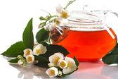 Chá de jasmim perfumado — Foto Stock