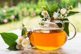 Fragrant jasmine tea — Stock Photo