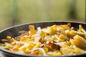Fried potatoes — Stock Photo