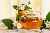 Fragrant jasmine tea — Stock Photo
