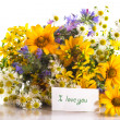 Bouquet of summer flowers — Stock Photo #26786319