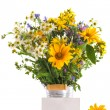 Bouquet of summer flowers — Stock Photo #26786347