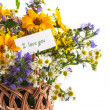 Bouquet of summer flowers — Stock Photo #26899587